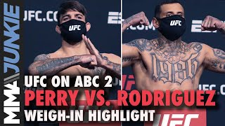 Mike Perry Makes Champ Weight Vs. Daniel Rodriguez | UFC On ABC 2