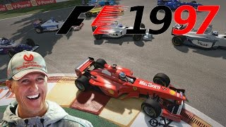 F1 1997 - Michael Schumacher in Spa - F1 2014 Mod German Gameplay Deutsch [Fanatec CSW]