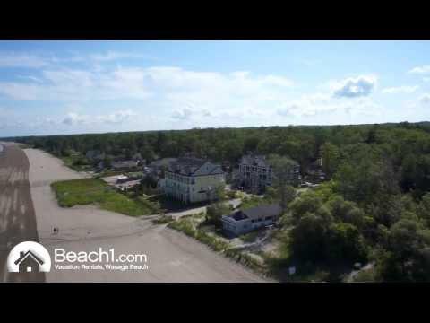 Beach1.com - Beachfront Beach Houses (Aerial View)