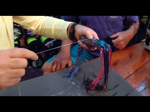 Rigging Offshore Trolling Lures with Black Bart In The Spread