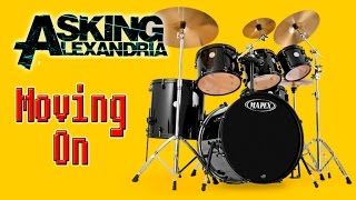 Asking Alexandria - Moving on (backing track for guitars)