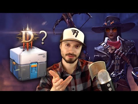 Why We Need To Talk About The Loot Box Controversy: Diablo 4 - Does Overwatch Do Loot Boxes Right?