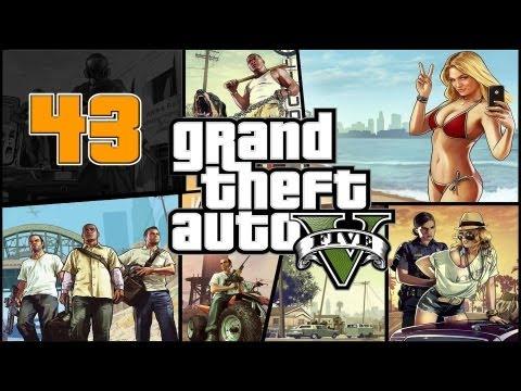 Прохождение Grand Theft Auto V (GTA 5) — Часть 43: Глубокое внедрение / Воздушный пират