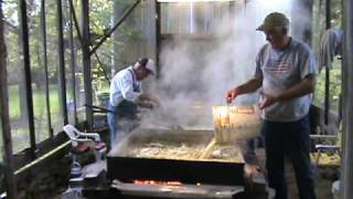 Making Sorghum Syrup