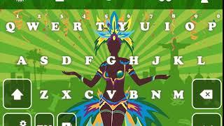 Brazil Carnival GO Keyboard Animated Theme screenshot 4