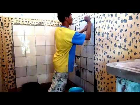 Comfort Room Tiles Setting 11 27 12 A Youtube