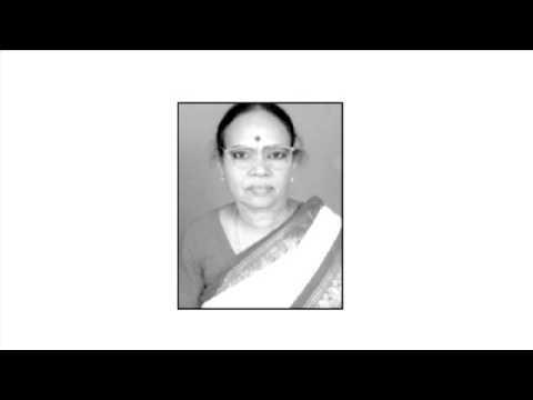 MY WIFE VIJAYALAKSHMI DELIVERING ALL INDIA RADIO TALK IN 1969