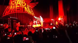 Babymetal gimme chocolate mexico city 2015