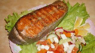 Стейк из форели / Trout steak