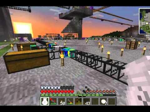 Tekkit Minecraft Solar Panel Factory Part 2 3 Youtube