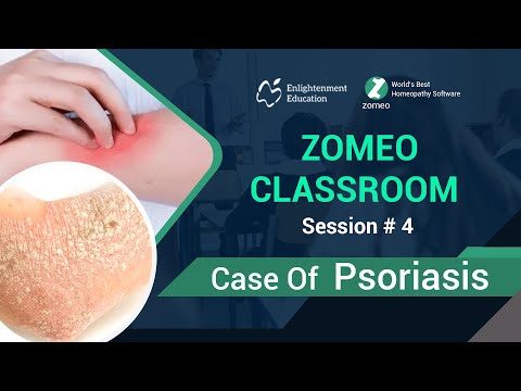 Zomeo Homeopathy Software: Case of Psoriasis