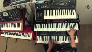 Cars by Gary Numan - Performed on a Little Phatty, JX3P, and Prophet 08