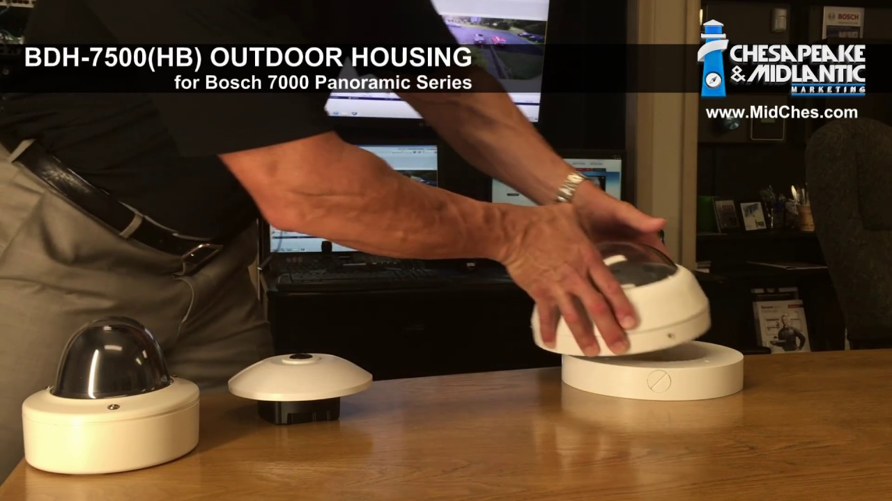 bdh 7500hb outdoor dome housing with heater blower for bosch panoramic midches [ 1280 x 720 Pixel ]
