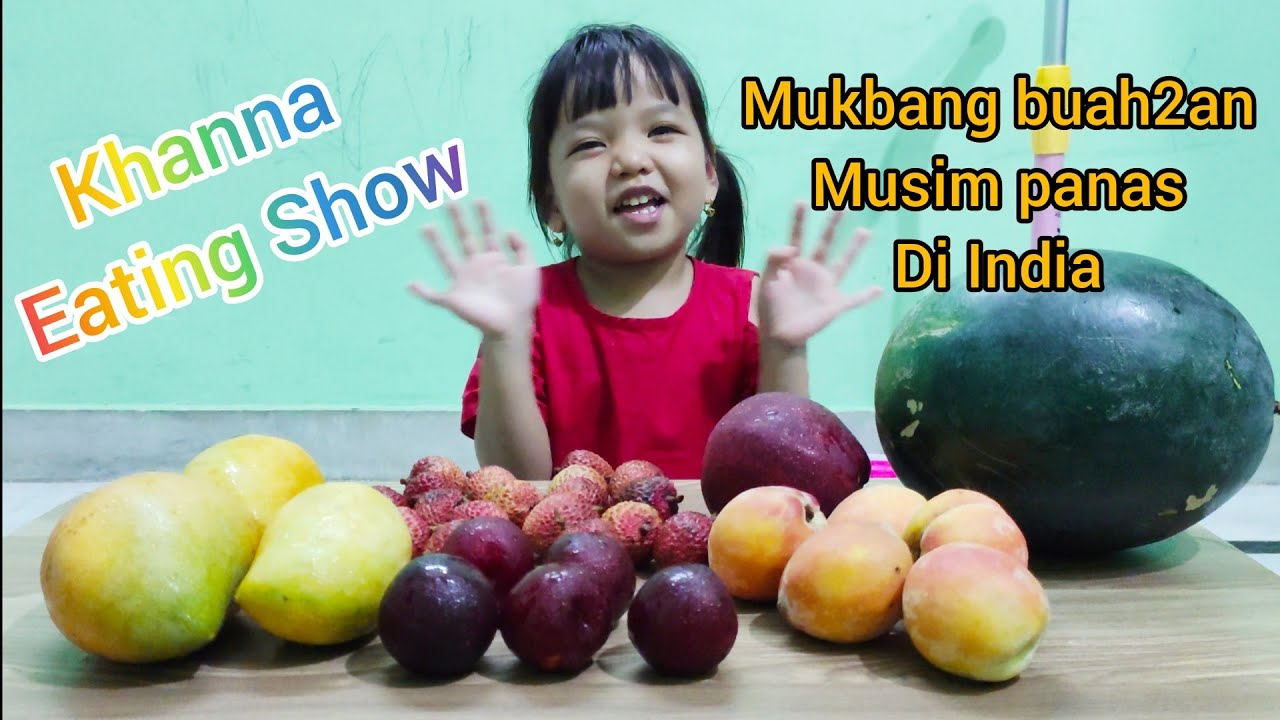 BUAH-BUAHAN INDIA DI MUSIM PANAS 🍎🥭🍉🍑 | SUMMER FRUITS | INDIA | INDONESIAN