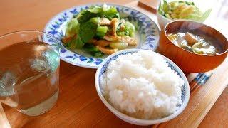 日々の料理をまとめてみた ロメインレタス油揚げ甘しょうゆ炒め thumbnail