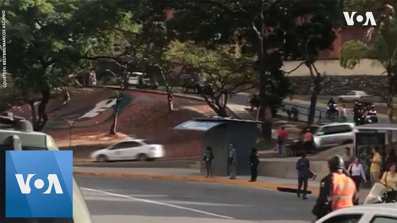 U.S. Diplomats Seen Departing Caracas