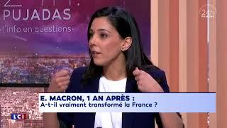 """Sophia Chikirou : """"E. Macron donne une image d'un président qui humilie les gens."""""""