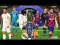 PES 2019 | Barcelona vs Real Madrid | Hazard to Real Madrid | Final UEFA Champions League [UCL]