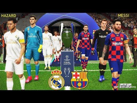 PES 2019 | Barcelona Vs Real Madrid | Hazard To Real Madrid | Final UEFA Champions League [UCL]