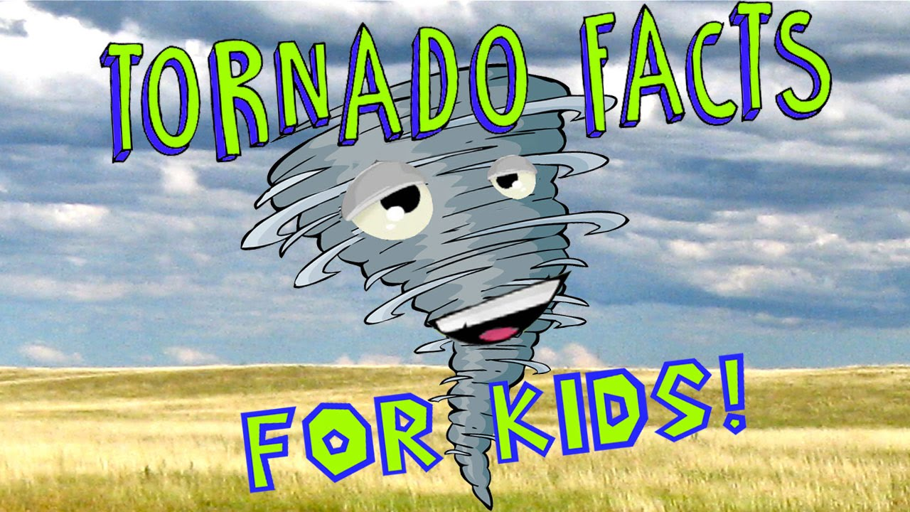 Tornado Facts for Kids! - YouTube