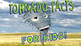 Tornado Facts for Kids!(This is a fun filled lesson all about tornadoes for kids! See real tornadoes form from giant thunderstorms and learn everything you need to know about these ..., 2015-11-02T16:04:14.000Z)