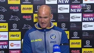 NRL Press Conference: Brad Arthur - Round 1 | NRL on Nine