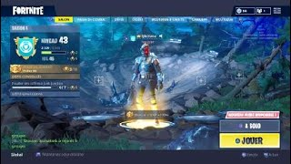 Fortnite I had the visitor skin