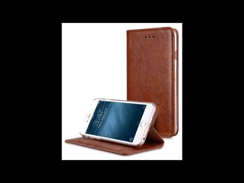 Melkco Herman Series Genuine Leather Case for Apple iPhone 7  - With Stand Function