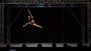Esme Telford - Solent Pole & Hoop Competition - Advanced Pole