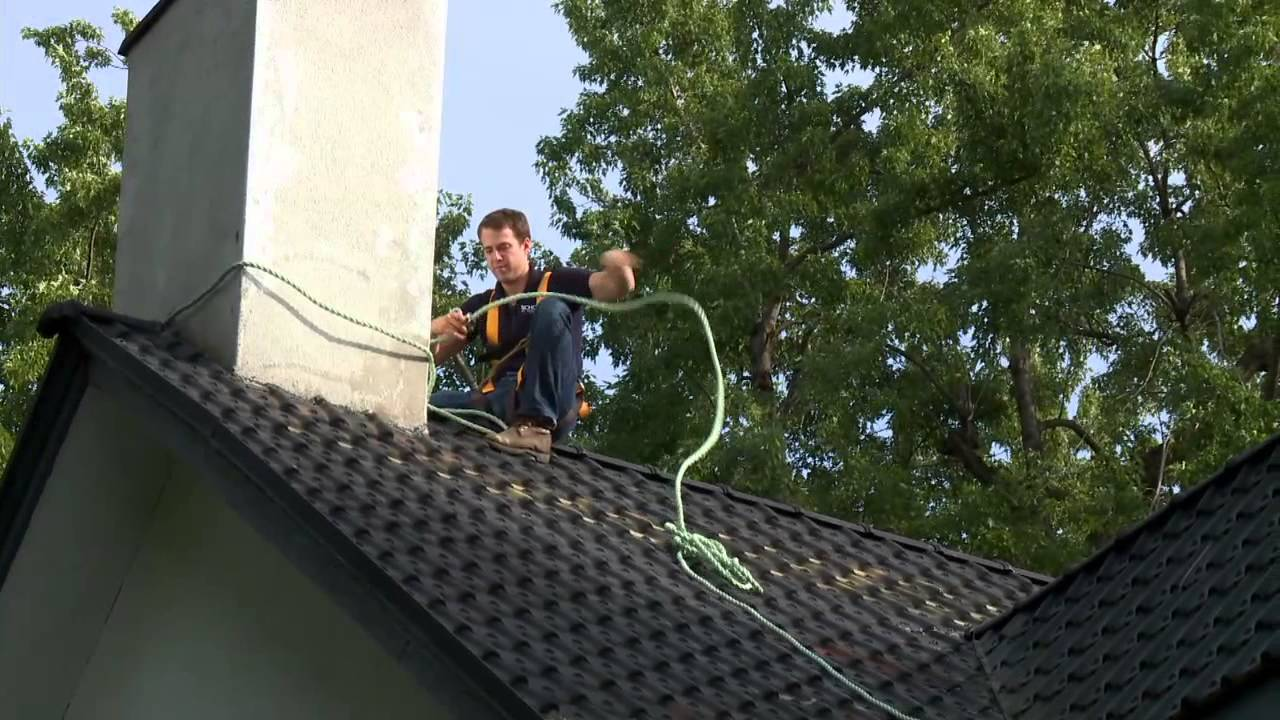 Roofing Harness Rope Amp Sc 1 St Youtube