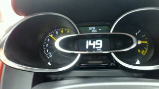 New Renault Clio 0.9 Tce acceleration