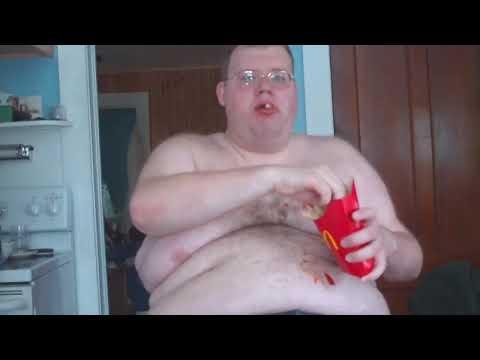 YouTube Fatman Eating Fries in HD part 1