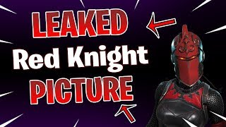 🔴 'NEW' RED KNIGHT RETOUR IMAGE OUI OU NON!? (Peau de chevalier rouge) Fortnite Bataille Royale