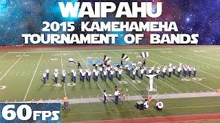 "WEST SIDE STORY | 2015 Waipahu HS ""Marauder"" Marching Band | KTOB | 60fps"