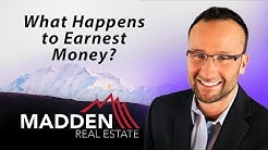 Alaska Real Estate Agent: What happens to earnest money?