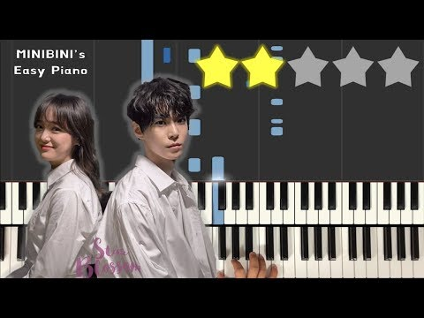 Star Blossom (별빛이 피면) - Doyoung X Sejeong 《MINIBINI EASY PIANO ♪》 ★★☆☆☆