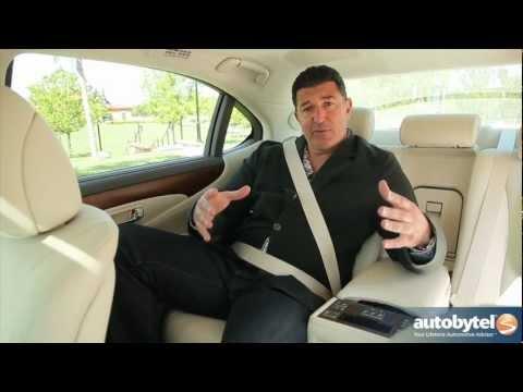 2012 Lexus LS 460L Test Drive & Luxury Car Video Review