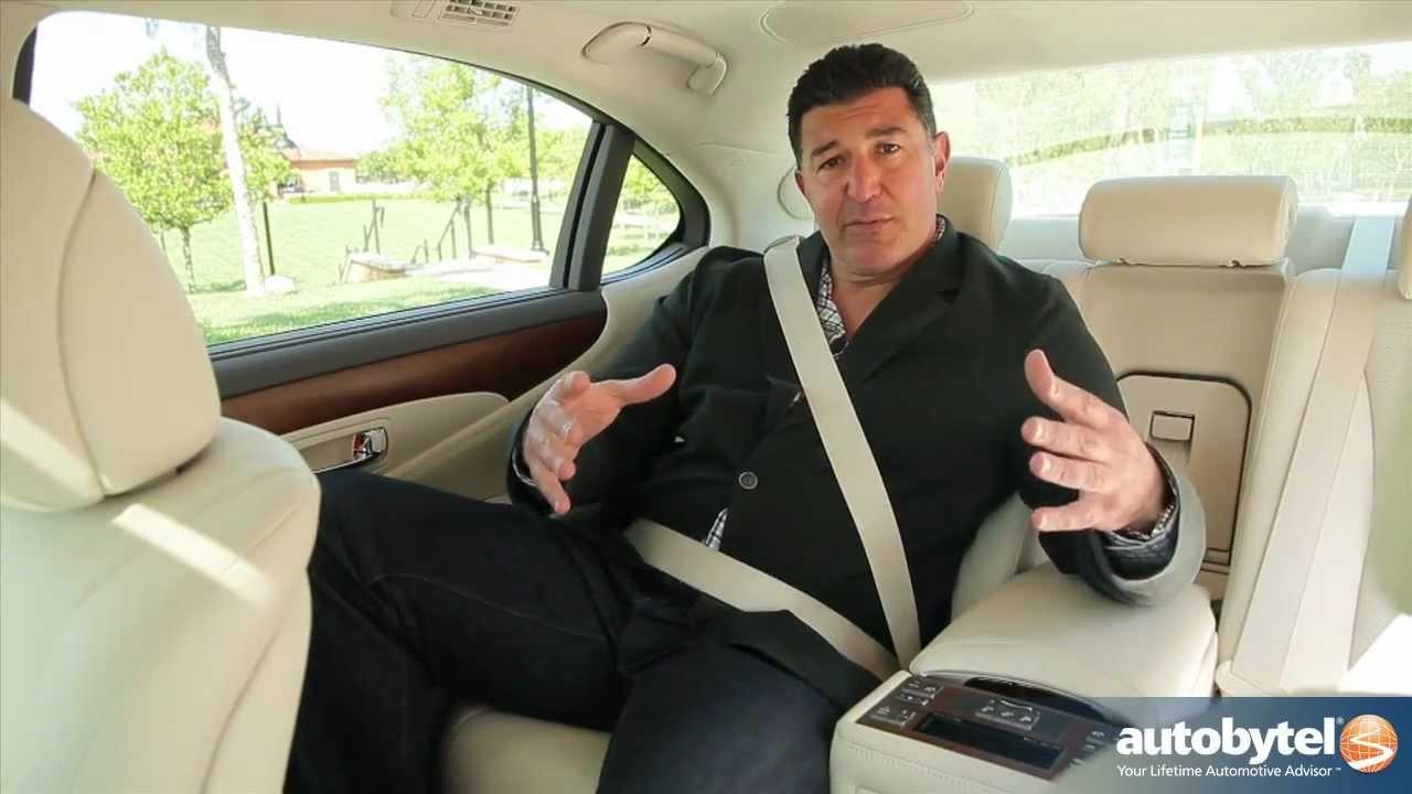 Ls 460 For Sale >> 2012 Lexus LS 460L Test Drive & Luxury Car Video Review ...