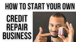 Start Your Own Online Credit Repair Business