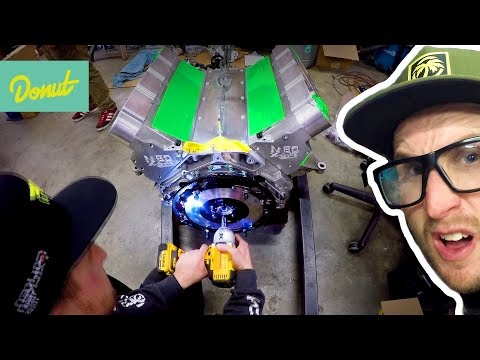 Drift Corvette - Final Install of the Engine  | Field Prep Ep16
