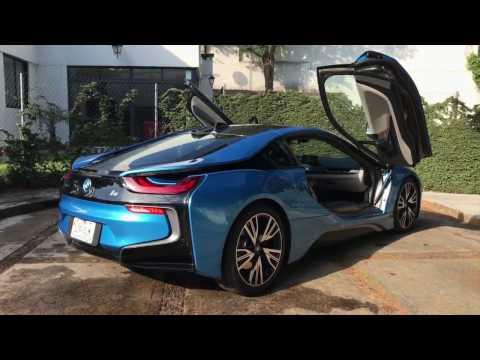 Prueba de manejo BMW i8