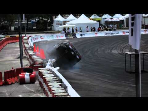 FXOpen Drift - Tony Angelo epic crash!