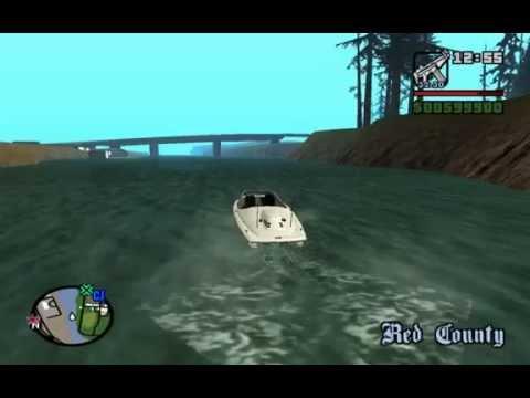 GTA San Andreas  El Monstruo Del Lago Nes  100% Real