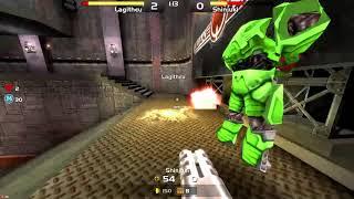Quake Live - Lag vs Shin Highlights