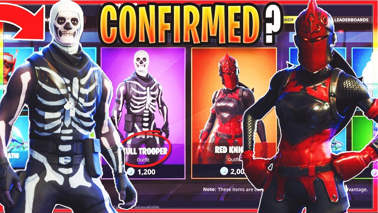 how to get the skull trooper in fortnite 2018