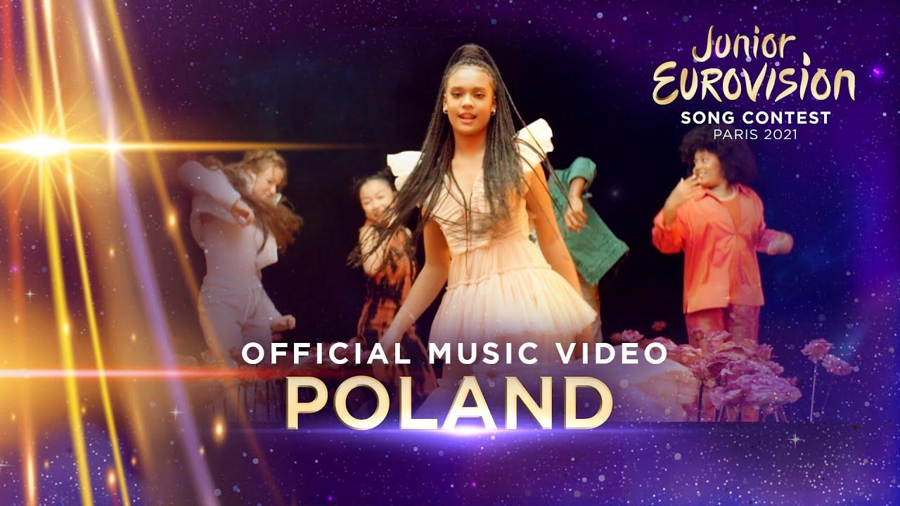 Sara James - Somebody - Poland ??  - Official Music Video - Junior Eurovision 2021