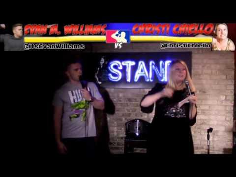 The RoastMasters Tournament 11.1.16: Evan Williams vs. Christi Chiello