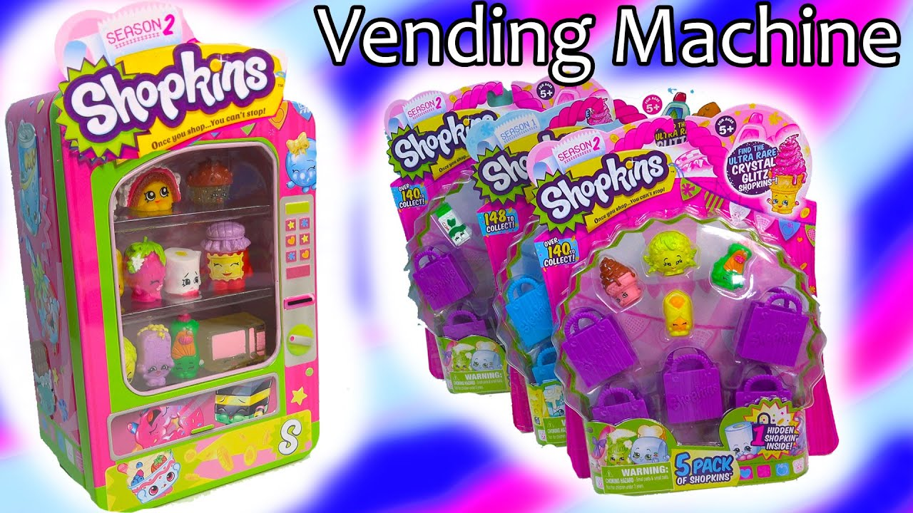 shopkins vending machine season 1