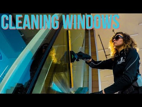 Luke The Window Cleaner & Reanna | Window Cleaning