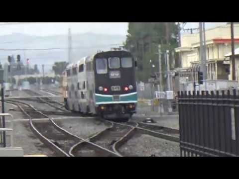 Afternoon Rush Hour At Metrolink Orange Station - April 6, 2017 segment 1
